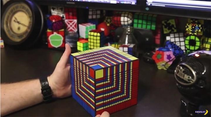 Самый сложный Кубик Рубика в мире