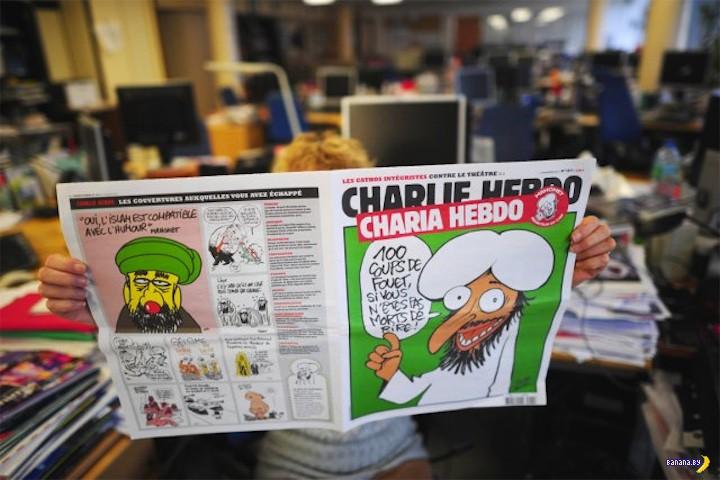 За что убили журналистов Charlie Hebdo