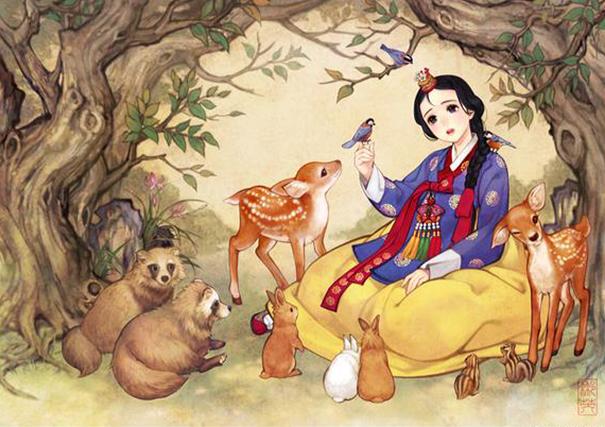 Западные сказки, восточный художник