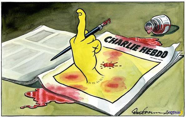 Карикатуристы за Charlie Hebdo