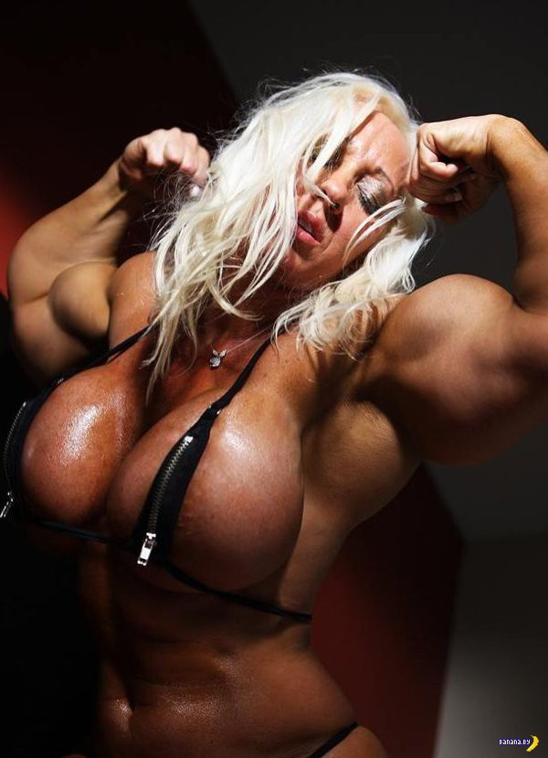 Female muscle femdom with captions