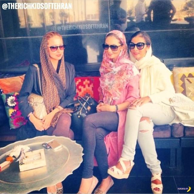 Иран, иранская богатая молодежь и разрыв шаблонов