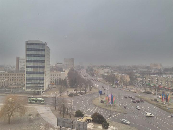 В Беларуси температура на 9 градусов выше климатической нормы