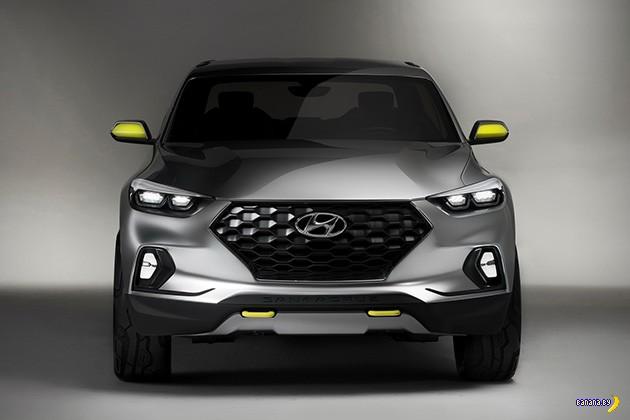 Концепт Hyundai Santa Cruz Crossover Truck
