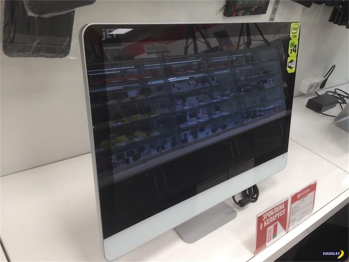 Белорусский iMac замечен в продаже