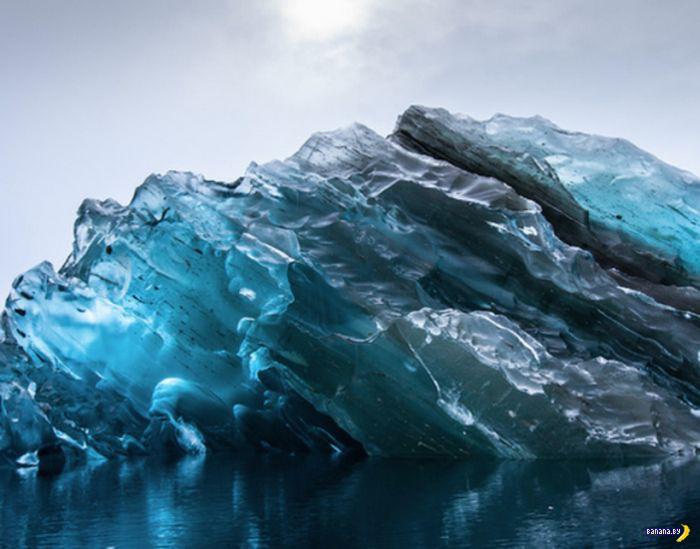 Интересное про айсберги