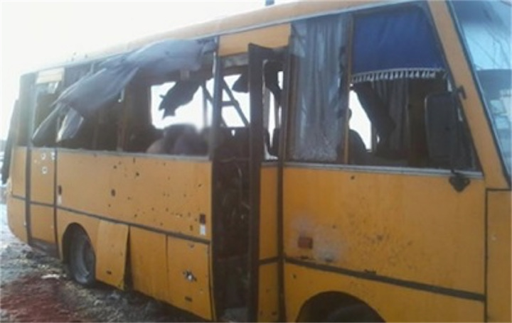 Водитель автобуса из Волновахи дал интервью