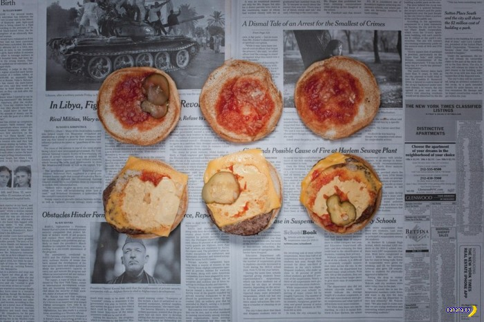 Еда у бедняков в разных странах