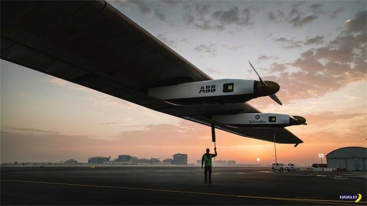 Solar Impulse 2 облетит планету