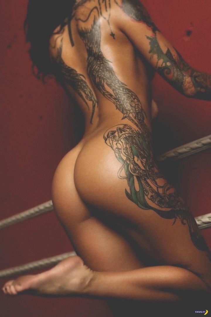 фото порно актрис с татуировкой дракона
