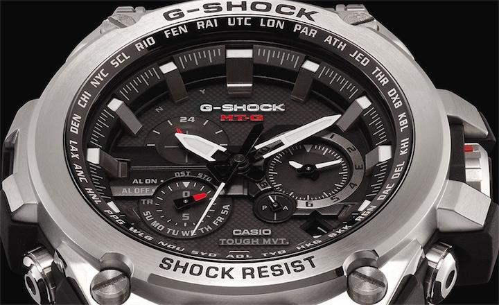 Легендарные G-Shock теперь и в металле