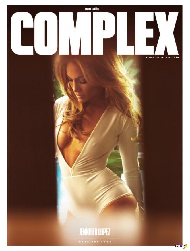 Дженнифер Лопес для Complex
