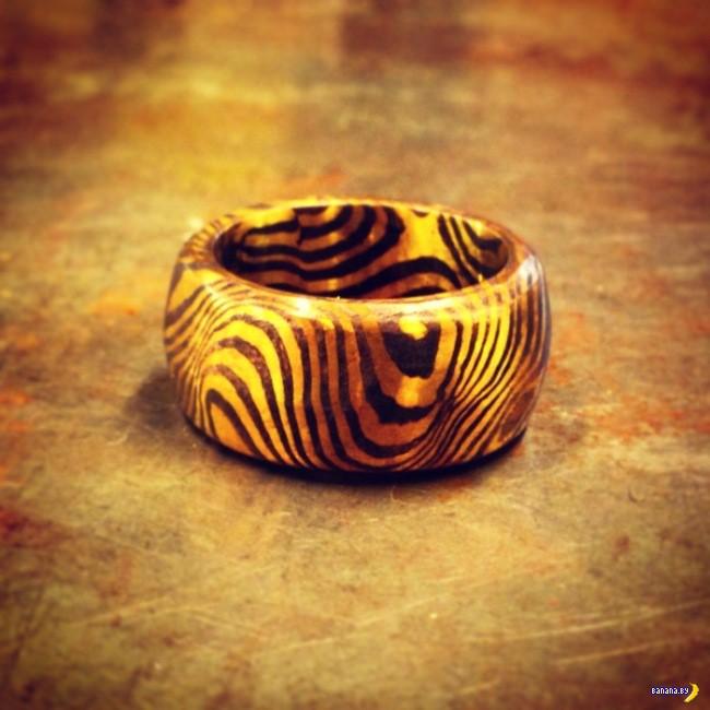 Интересное кольцо своими руками