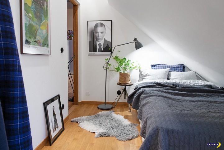 Квартира на чердаке в Готембурге