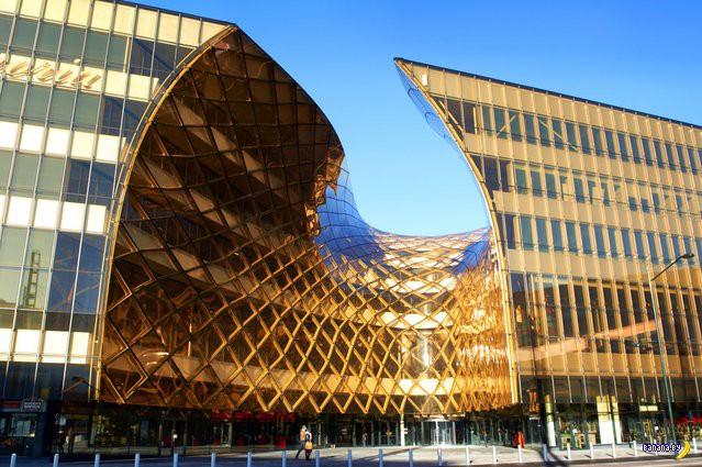 Торговый центр в Швеции