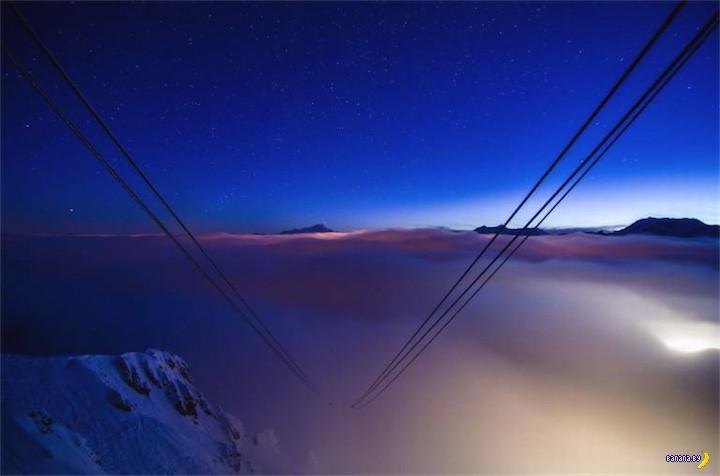 Зависнуть на ночь на высоте 2700 метров