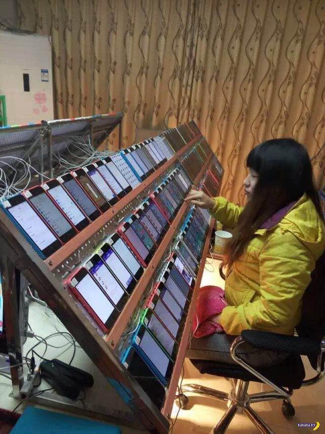 Зачем девушке столько iPad?
