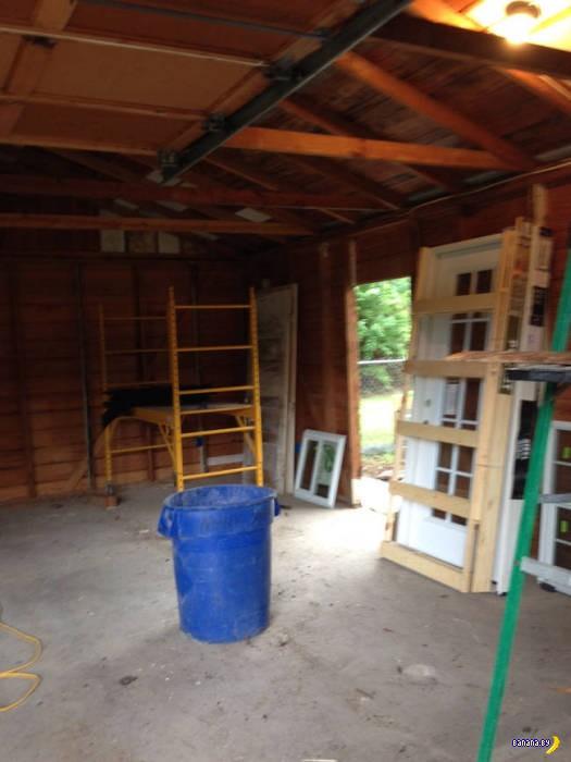 Был гараж –и нет гаража!