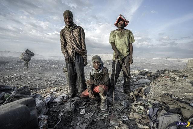 Мусорные люди в Порт-о-Пренс