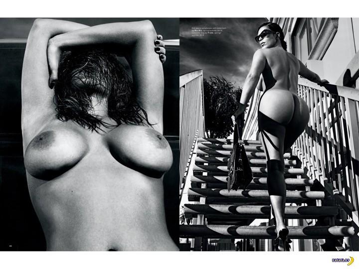 Ким Кардашян для Love Magazine