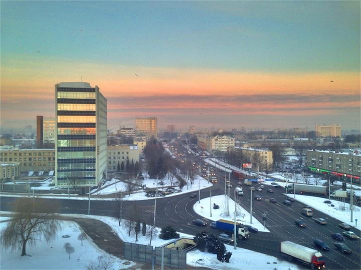 В Беларуси –зима и до минус 10!