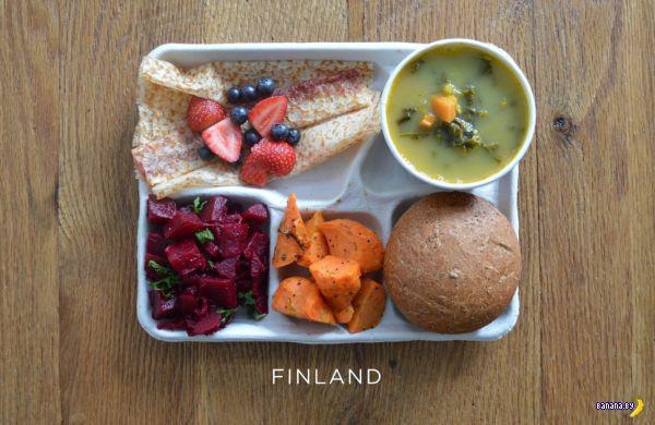 Школьные обеды в разных странах мира