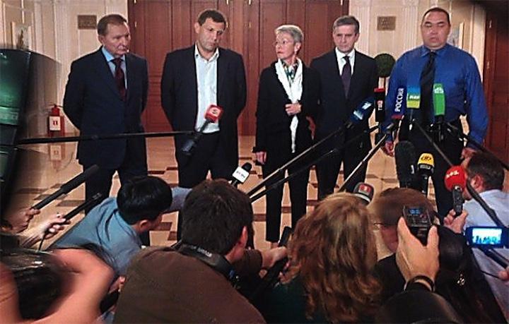 В центра Минска будут перекрывать и блокировать
