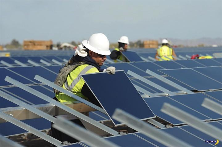 Apple запускает солнечную ферму