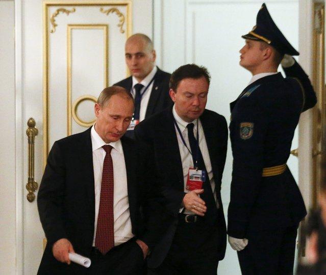 Лучшие фотографии с минского саммита