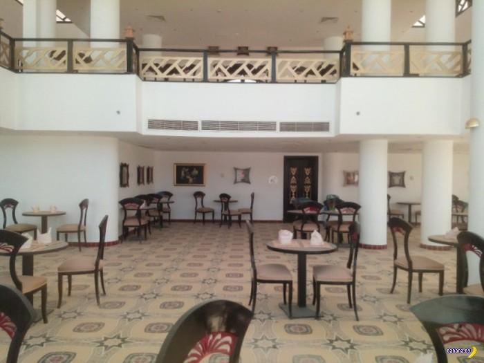 Заброшенный отель в Египте