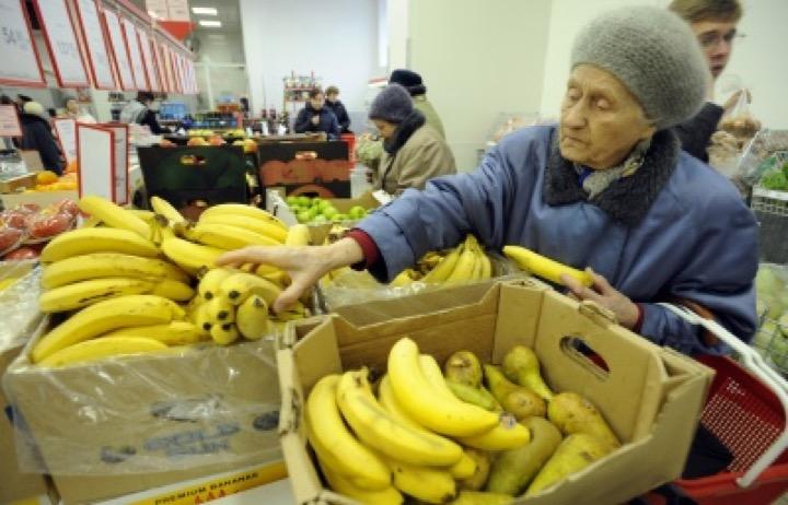 Россияне начинают отказываться от бананов