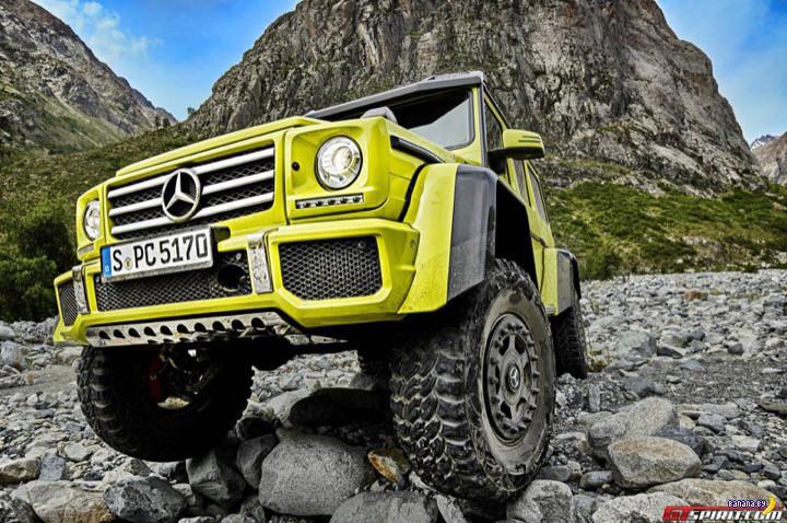 Mercedes-Benz показал концепт G500 4×4²