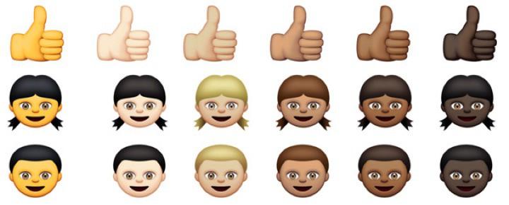 Apple обновляет emoji политкорректно!