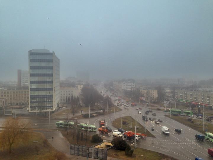 Погода: быть туманам и теплу