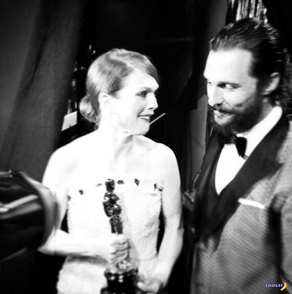 "Что звезды с ""Оскара"" инстаграмили?"