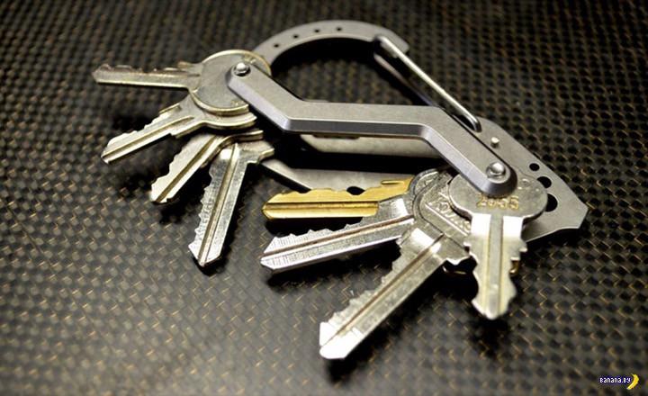 Уникальный карабин Keybiner