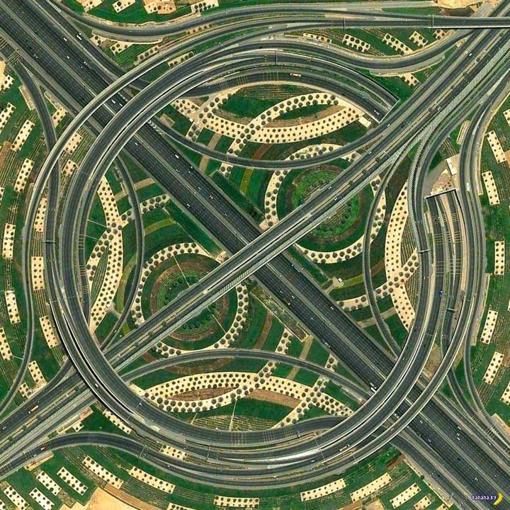 Самые интересные спутниковые снимки