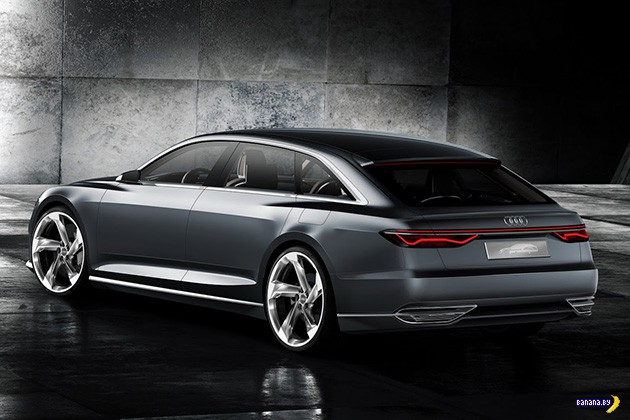 Вот вам Audi Prologue Avant Concept