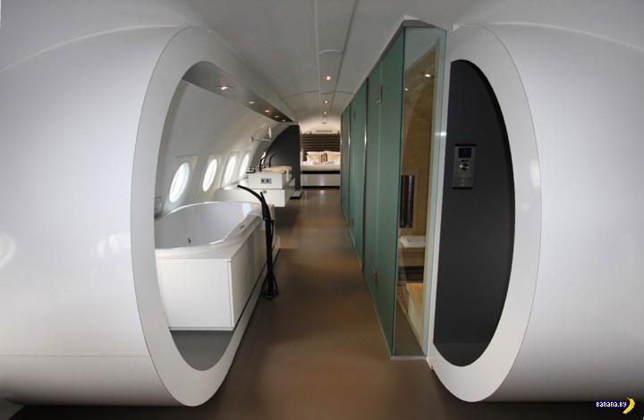 Пожить в самолёте с роскошью