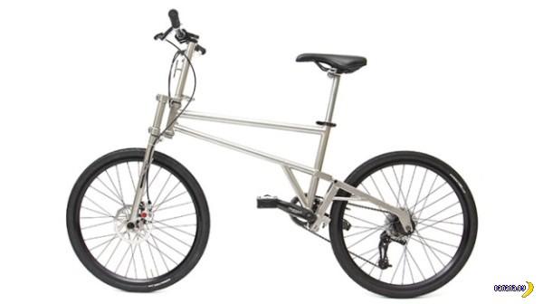 Очередной велосипед-раскладушка