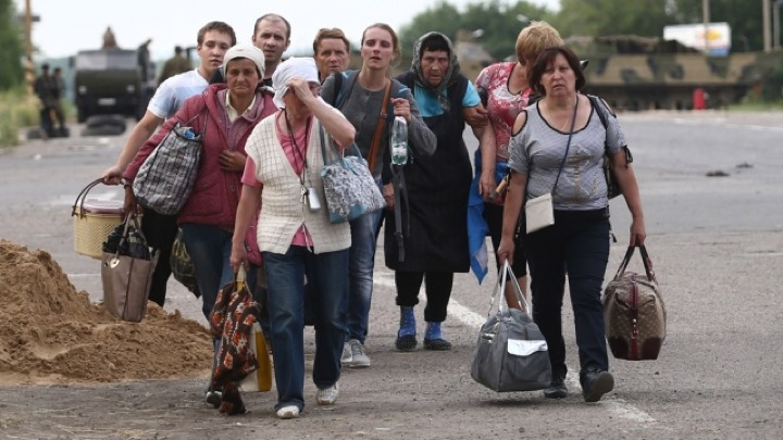 Лукашенко про беженцев с Украины