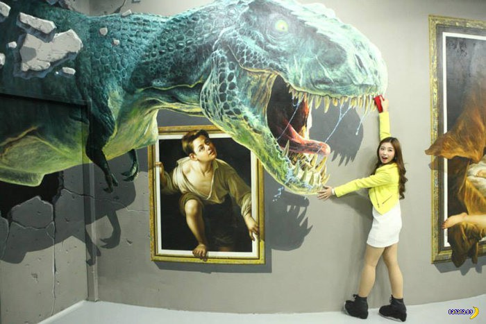 Выставка иллюзий
