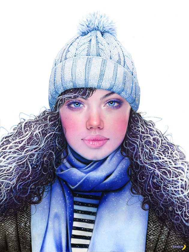 Рисует Морган Дэвидсон