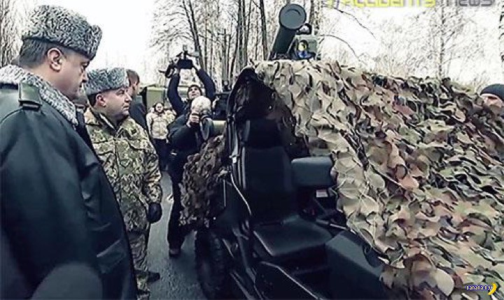 Украинская военщина укрепляется
