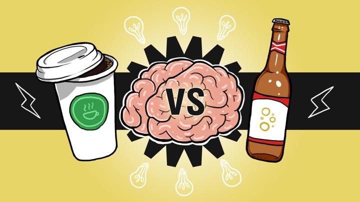 Топливо для мозга –пиво или кофе?