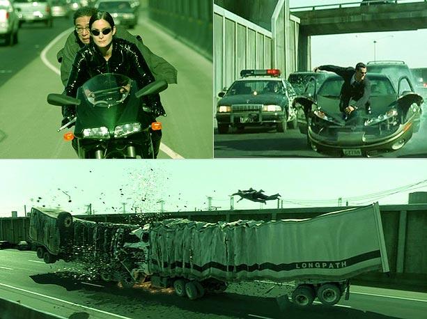 Кино и разбитые машины
