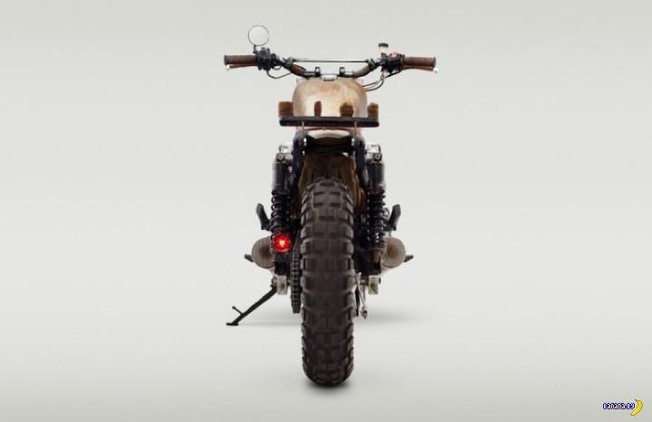 """Мотоцикл для """"Ходячих мертвецов"""""""