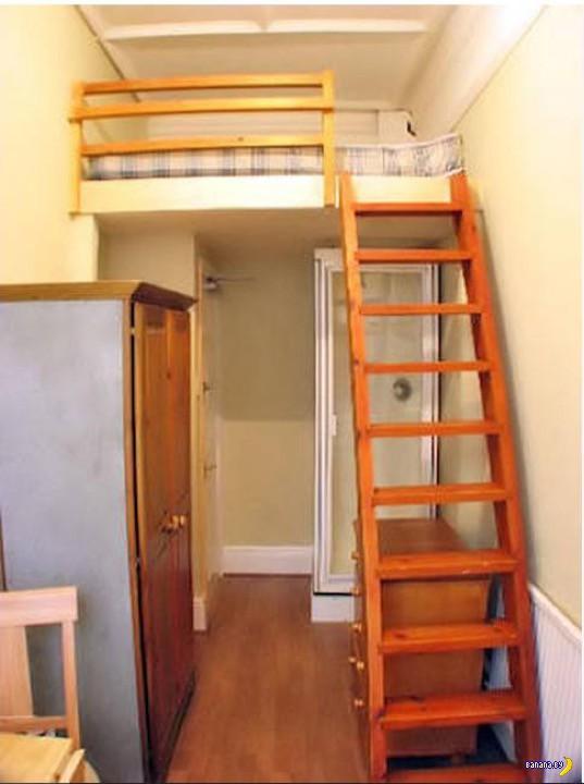 В шкафу больше места!