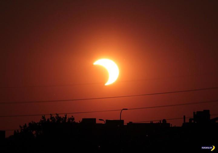 Про солнечное затмение в Минске