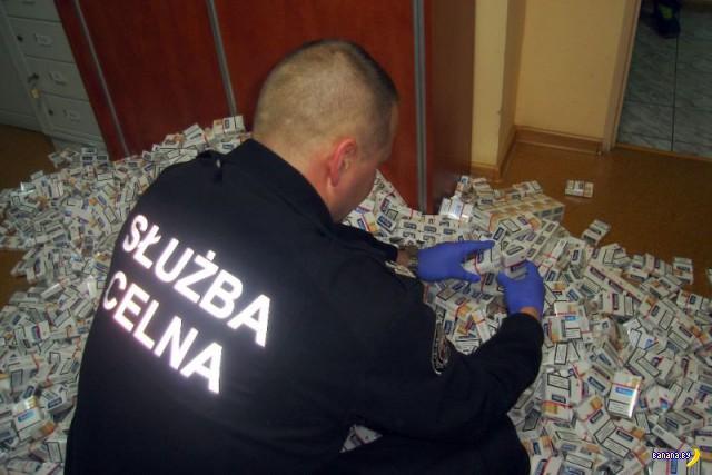 Как белорусские сигареты в Польшу возят